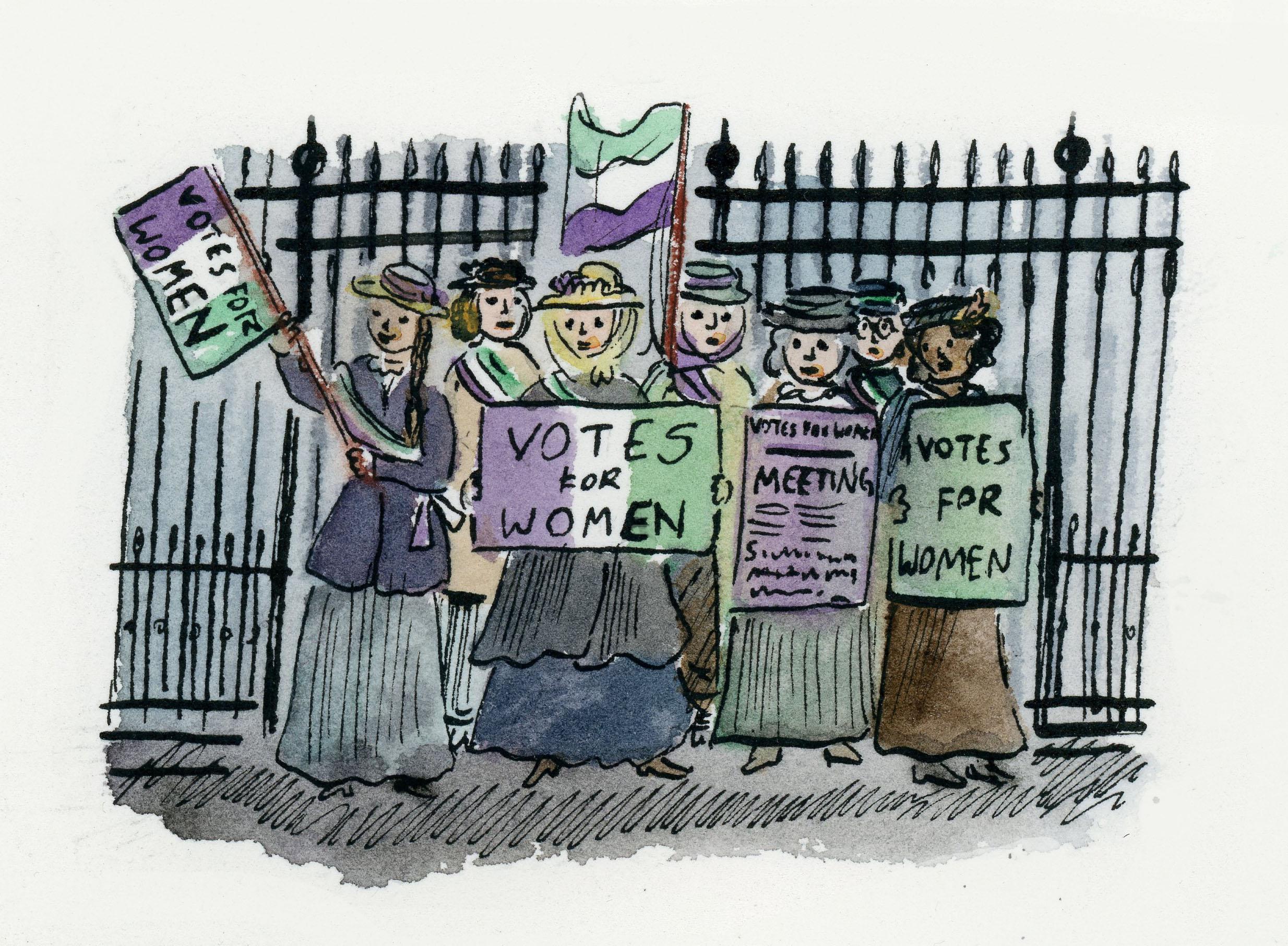 30.-suffragettes