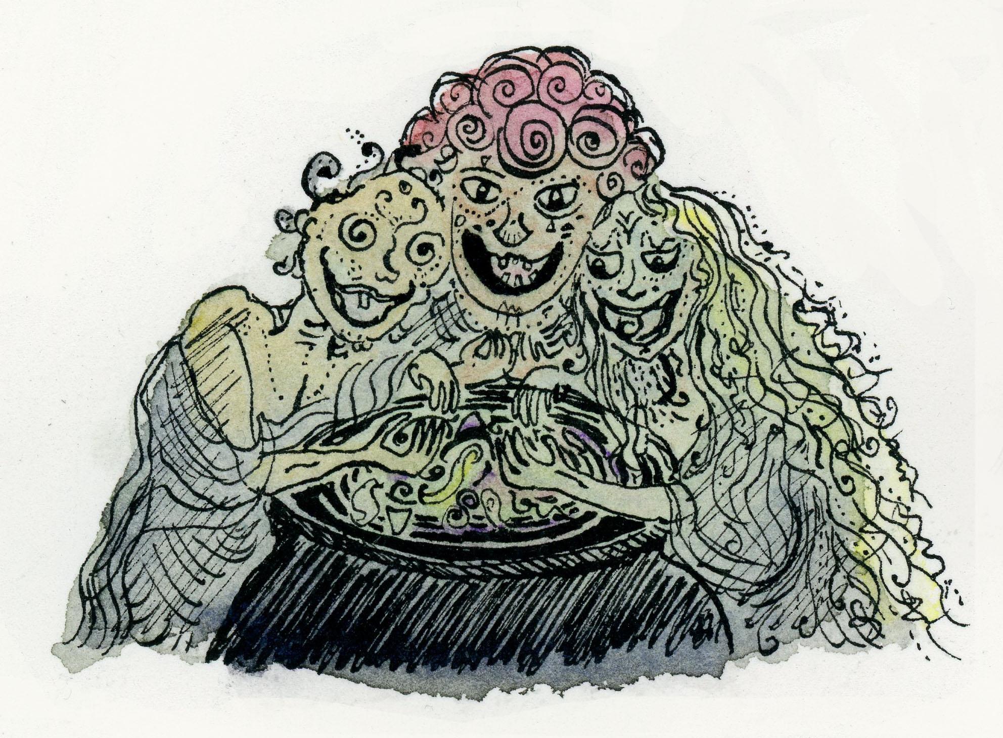 11. Weird sisters