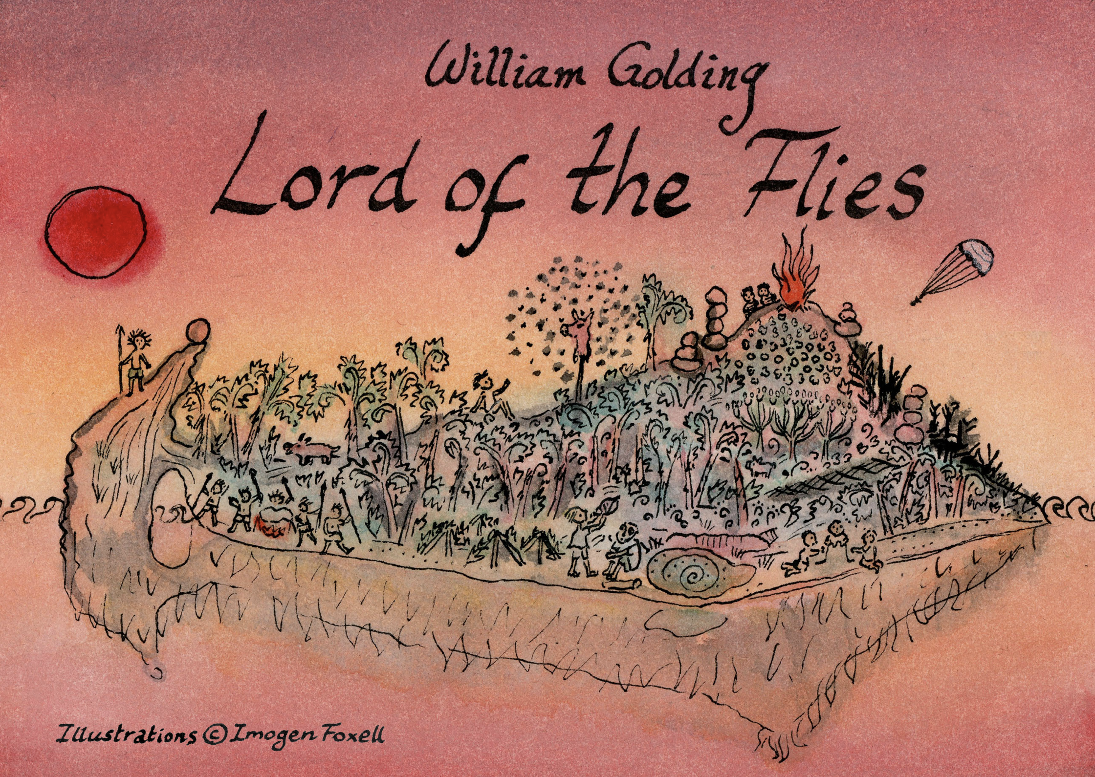 Lord Of The Flies Flipsco Cards